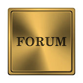 Forum icon — Foto de Stock