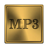MP3 icon — Foto Stock
