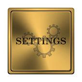 ícone de configurações — Foto Stock