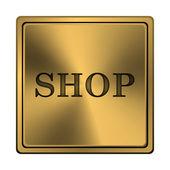 Obchod ikona — Stock fotografie