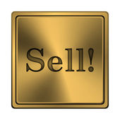 Sell icon — Stock Photo