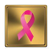 Icona barra multifunzione di cancro al seno — Foto Stock