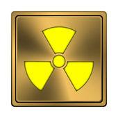 Radiation icon — Fotografia Stock