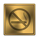Ingen rökning ikon — Stockfoto
