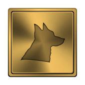 Hund-ikonen — Stockfoto