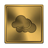 Clouds icon — Стоковое фото