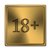 18 plus ikonen — Stockfoto