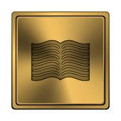 本のアイコン — ストック写真