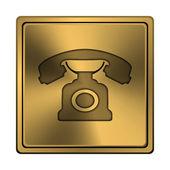 Telefonikonen — Stockfoto