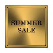 Summer sale icon — Zdjęcie stockowe