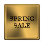 Vårens försäljning ikonen — Stockfoto