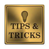 Tips och tricks-ikonen — Stockfoto