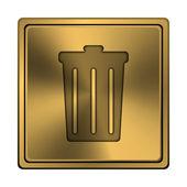 Bin icon — Stock Photo