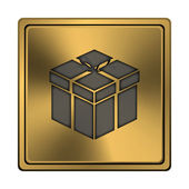 Icono de regalo — Foto de Stock