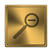 Zoom de alejamiento icono — Foto de Stock