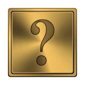 Question mark icon — Stockfoto