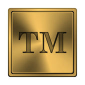 Trade mark icon — Stock Photo
