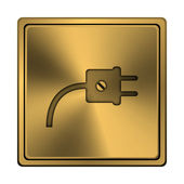 Plug icon — Stock Photo