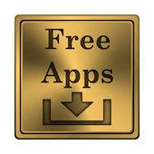 свободный apps значок — Стоковое фото
