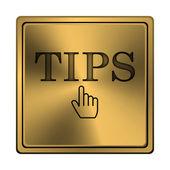 Tips-ikonen — Stockfoto
