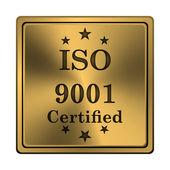 Icona iso9001 — Foto Stock