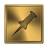 Icona di blocco — Foto Stock