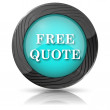 Free quote icon — Stock Photo