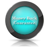 Money back guarantee icon — Stock fotografie