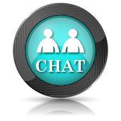 Chat-ikonen — Stockfoto