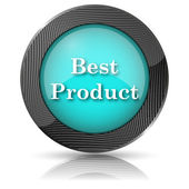 Best product icon — Stock Photo