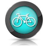 Cykel-ikonen — Stockfoto