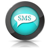 SMS bubble icon — Foto de Stock