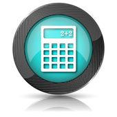 иконка калькулятор — Стоковое фото