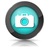 Photo camera icon — Stock fotografie
