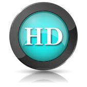 HD icon — Stock Photo