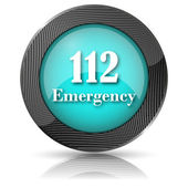 112 Emergency icon — Foto Stock