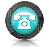 телефонный символ — Стоковое фото