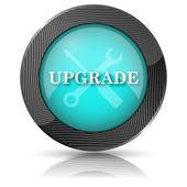 Uppgradera ikonen — Stockfoto