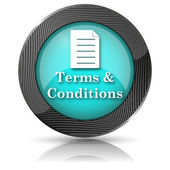 Terms and conditions icon — Foto de Stock
