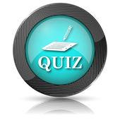 Ikona quizu — Zdjęcie stockowe