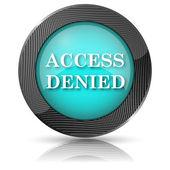 Access denied icon — ストック写真