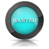 Wanted icon — Foto Stock
