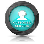 Customer service icon — Stock Photo