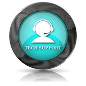 Tech support-symbol — Stockfoto