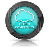Cloud computing icon — Zdjęcie stockowe