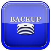 Back-up icon — Stock Photo