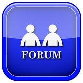 Forum simgesi — Stok fotoğraf