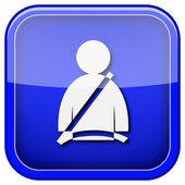 Safety belt icon — Stock Photo