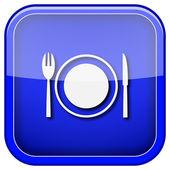 Icono de restaurante — Foto de Stock