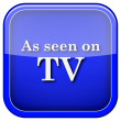 As seen on TV icon — Stock Photo #38100579